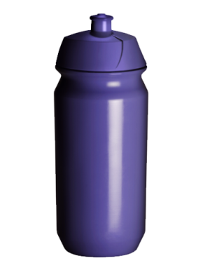 Bidón Personalizado 500 ml de color PURPULE
