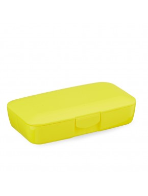 CUSTOM YELLOW PILL BOX