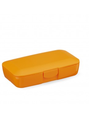 CUSTOM ORANGE PILL BOX