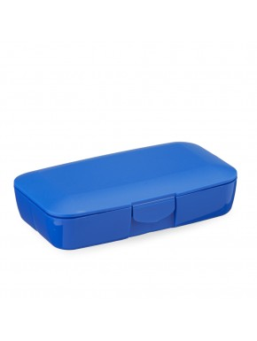 CUSTOM DARK BLUE PILL BOX