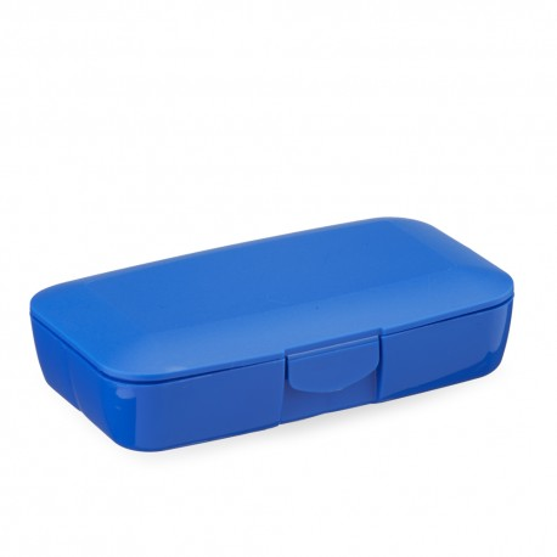 CUSTOM DARK BLUE PILL BOX