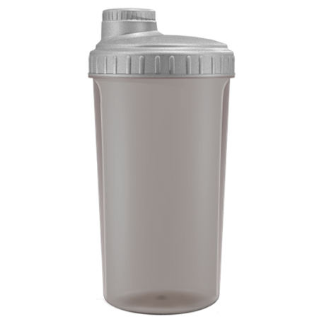 Shaker -24oz (700ml) BLACK TRANSPARENT